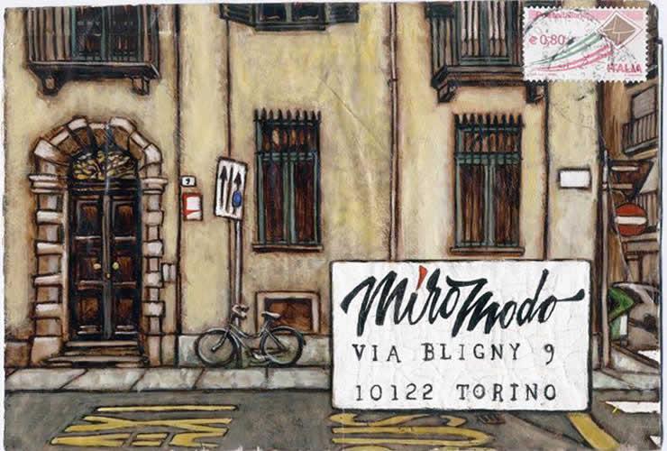 Miromodo apre le porte con la Mail Art
