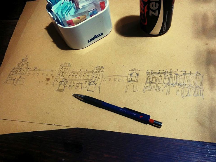 Urban Sketch!